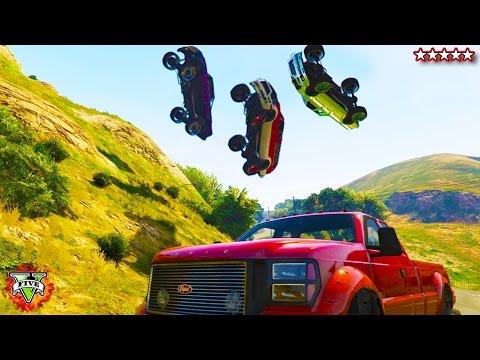 GTA 5 Off-Roading!!! - CUSTOM TRUCKS!!! GTA 5 - Hanging With the Crew Grand Theft Auto 5