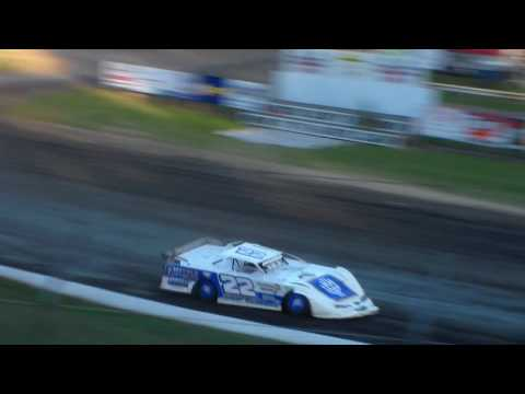 Late Model Heat 2 @ Hamilton County Speedway 07/29/17