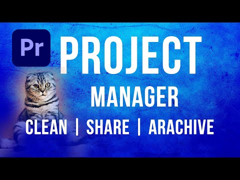Adobe Premiere Project Manager