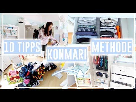 10 TIPPS Konmari Methode• Nie wieder aufräumen! • Organisation&Aufbewahrung• Maria Castielle