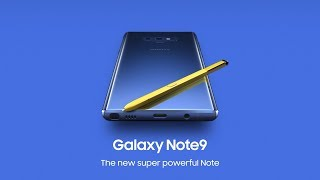 Galaxy Noteシリーズの最新機種『Galaxy Note9』をチェックしてみよう!