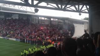 Wrexham - Chester FC  31/9/13