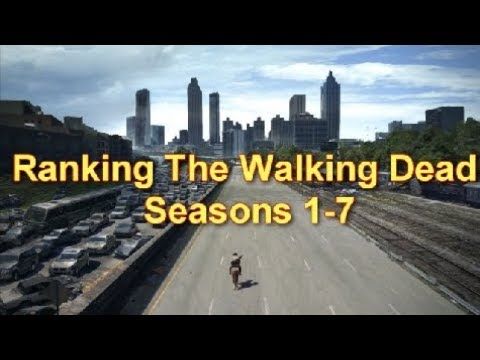 Ranking The Walking Dead Seasons 1-7