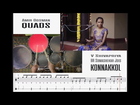 Konnakkol & Quads Transcription