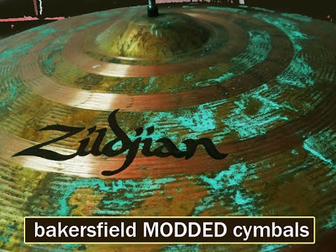 Zildjian ZBT Ride Patina acid mods processed