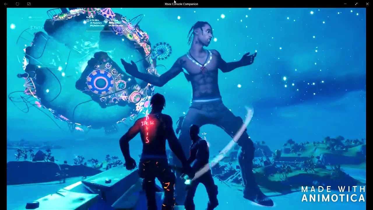 Travis Scott Fortntie – The astronomical event is a live event that took place on an island between sweaty sands and the shark on the april 23 at 7pm edt and lasted until april 25, 2020 at 6pm edt.
