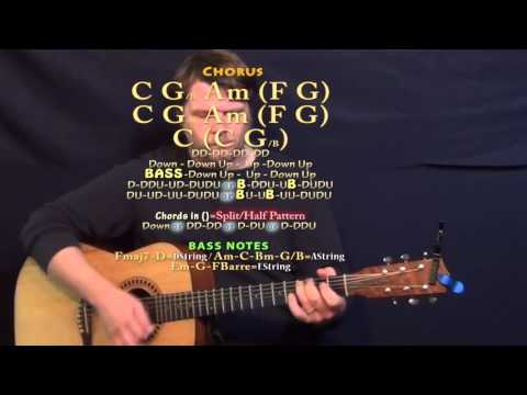 All Out of Love (Air Supply) Guitar Lesson Chord Chart