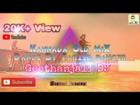 Kannada DJ Mix   Geethanjali Song   Dance Video   By Fareed dancer✓