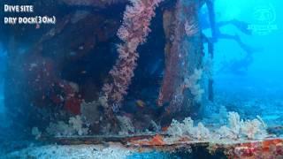드라이독 사방비치 필리핀투어 [스쿠버다이빙/scubadiving/코브라다이브/사방비치] drydock