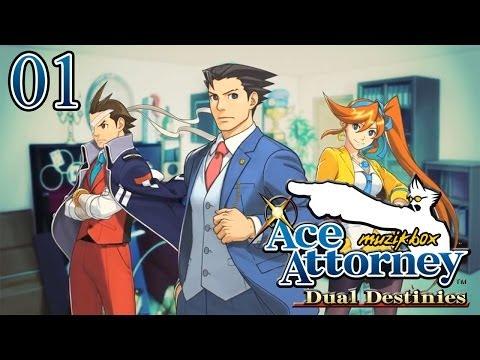 Let's Play Phoenix Wright Ace Attorney : Dual Destinies FR - 01 - Phoenix renaît de ses cendres