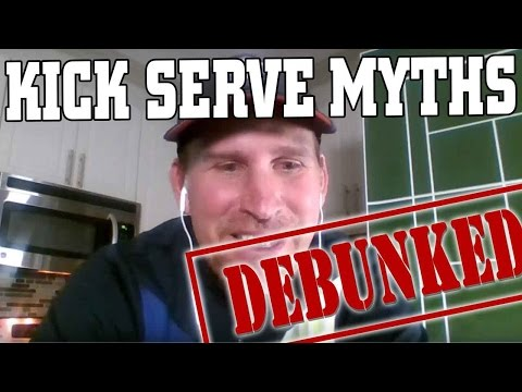 Live Kick Serve Lesson: 7 Myths of the Kick Serve Debunked!