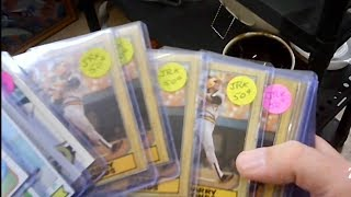 THE LAST STOP: A WHOLE STACK OF BARRY BONDS ROOKIES FOR 43 CENTS EACH AT AN ANTIQUE STORE