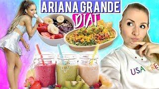 ARIANA GRANDE DIÄT? Eine Woche essen wie ARI! Abnehmen mit veganer Ernährung?