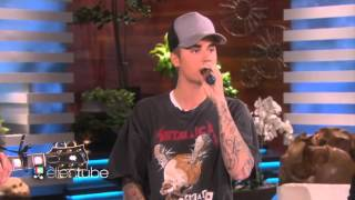 Justin Bieber About Relationship With Selena Gomez + Sorry Acoustic Performance With The Ellen Show