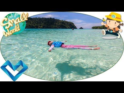 เด็กจิ๋ว@เกาะรอก ใต้ทะเลสวยมาก (ทริปเกาะสิมิลัน-เกาะรอก#6) [N'Prim W306]