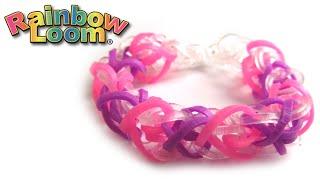 Как плести браслет из резинок на рогатке | How to weave rubber band bracelet on slingshot