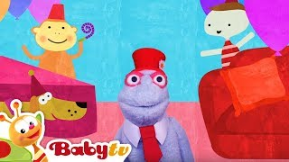 House Party with Baby, Dog and Friends | BabyTV