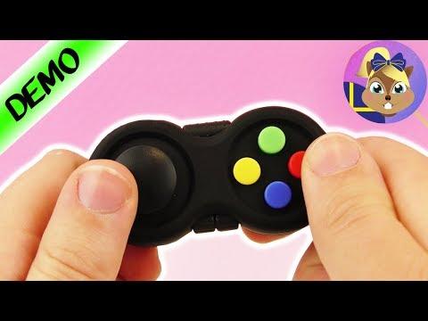 Fidget spelkontroll   Ny antistresspryl - låtsad spelkonsol för avslappning och fokus