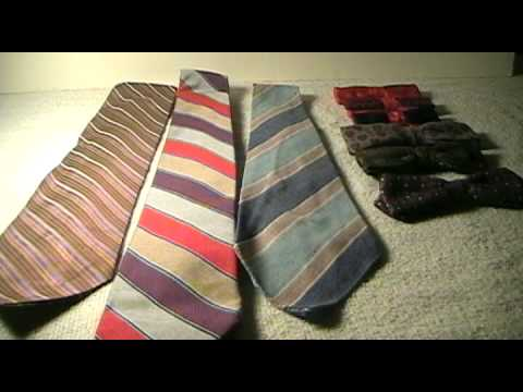 dating vintage neckties
