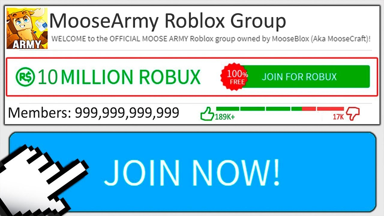 Worlds Biggest Roblox Fan Group 10 Billion Members Youtube