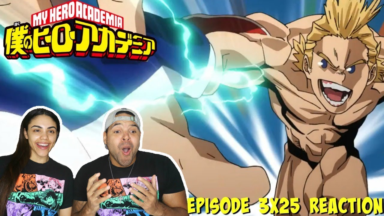 MIRIO VS UA STUDENTS! My Hero Academia Season 3 Episode 25 REACTION!!!