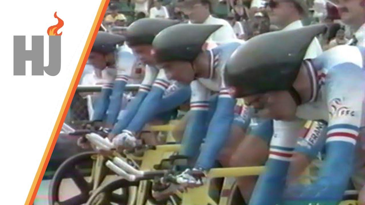 Download 1996 Atlanta - Finale poursuite par équipes, la France championne Olympique !