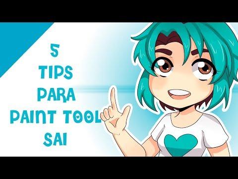 ♡ 5 Tips Para Paint Tool Sai