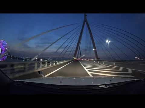 Osaka Expressway night drive 4K 阪神高速 湾岸線