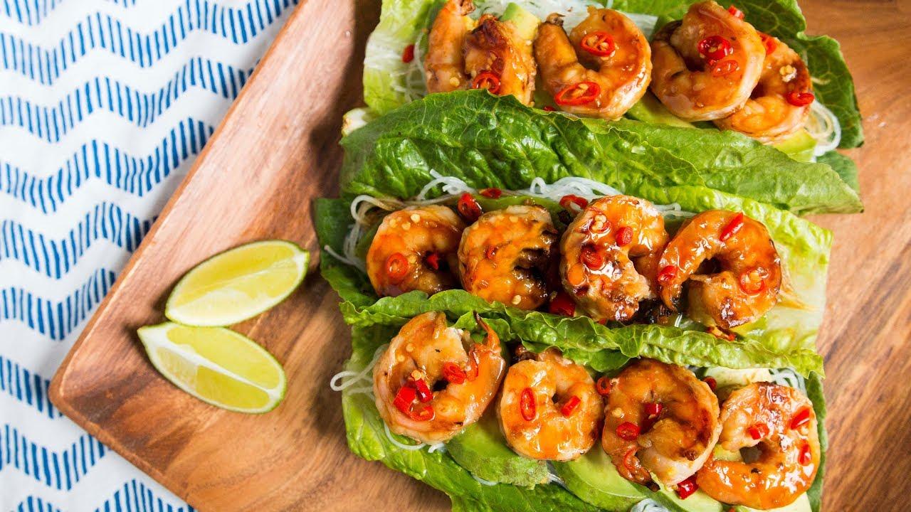 Refreshing Grilled Shrimp Lettuce Wraps - Youtube-7699