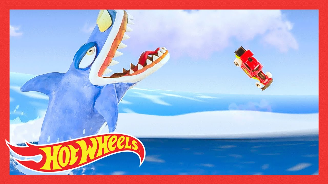 BEST SHARK WEEK HIGHLIGHTS! 🦈 | @HotWheels