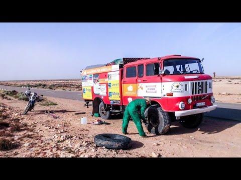Rallye Dresden Dakar Banjul 2015 - Truck for Africa IFA W50