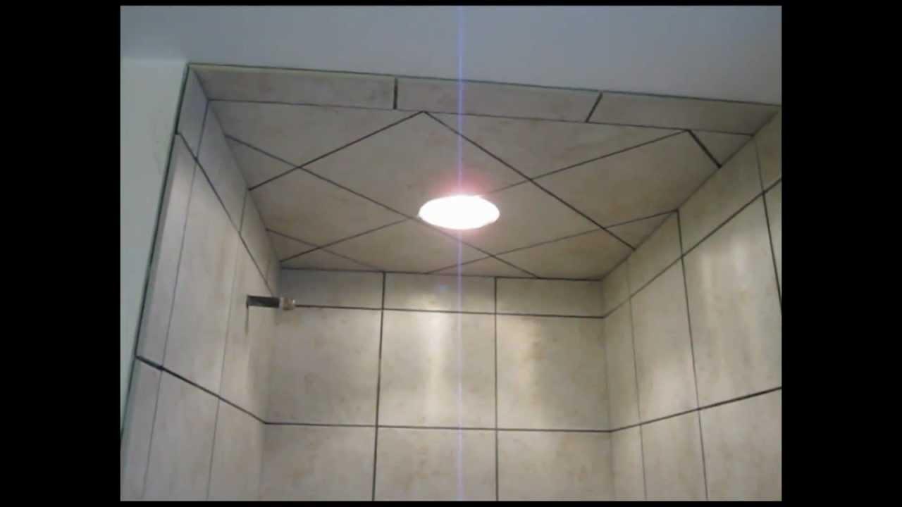 Ceramic Tile Shower Stall Youtube