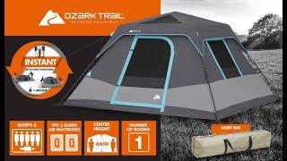 Camping tent 6 person Dark Rest Walmart