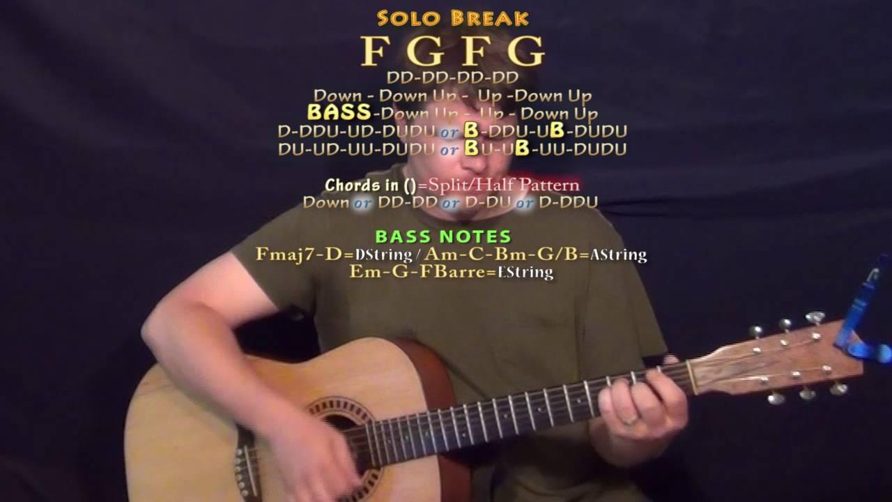 Guitar chords for redemption