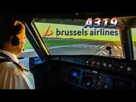 Preparing & Piloting an AIRBUS out of BRUSSELS