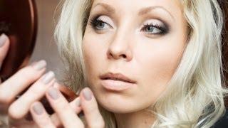 Дневной макияж для голубых глаз: пошаговые фото и видеоуроки