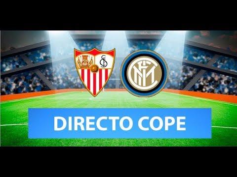 (SOLO AUDIO) Directo del Sevilla 3-2 Inter de Milán en Tiempo de Juego COPE
