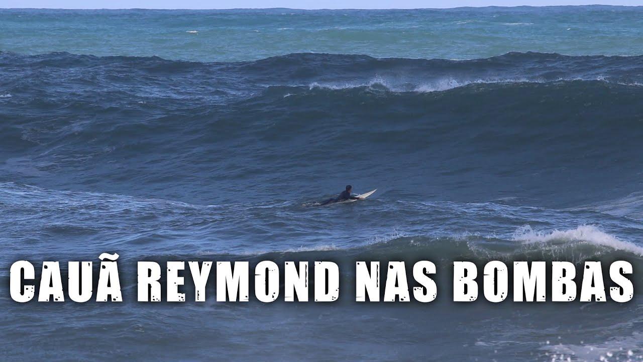 Cauã Reymond nas ondas grandes de Grumari-RJ - Vlog SURFE TV #46