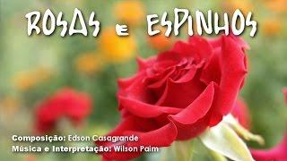 Rosas e Espinhos - Letra: Edson Casagrande / Música e Interpretação: Wilson Paim