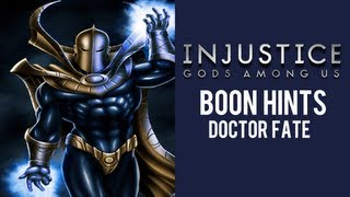 Injustice Gods Among Us: DR. Fate HINTED!!