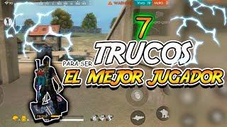 ¡ 7 TRUCOS SECRETOS para ser EL MEJOR JUGADOR DE FREE FIRE ! | COMO SER PRO EN FREE FIRE | Kurko