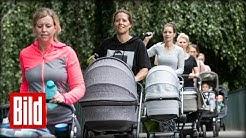 Mutter-Kind-Sport: RTL-Moderatorin Miriam Lange muss noch 7 Kilo verlieren