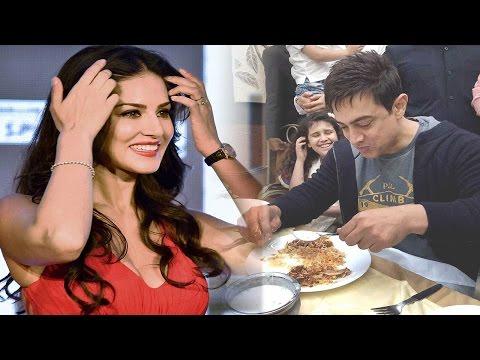 Aamir Khan, Sunny Leone met over lunch in...