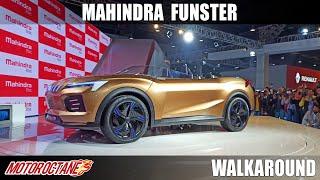 Mahindra Funster - Convertible SUV ? | Auto Expo 2020 | Hindi | Motoroctane