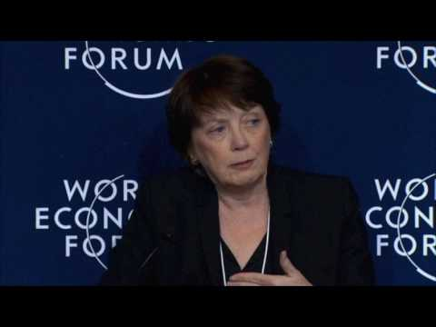 Dean Boyce Speaks on Women and STEM at Davos 2017