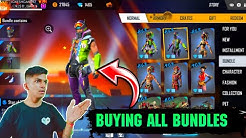 Buying All Free Fire Bundles From Store And New Trick To Get Free Diamond At Free Fire 2019