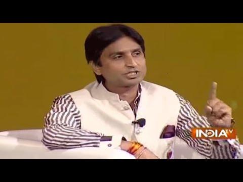 IndiaTV Samvaad: Kumar Vishwas, Raj Babbar, Manoj Tiwari, Zafar Sareshwala at IndiaTV Conclave