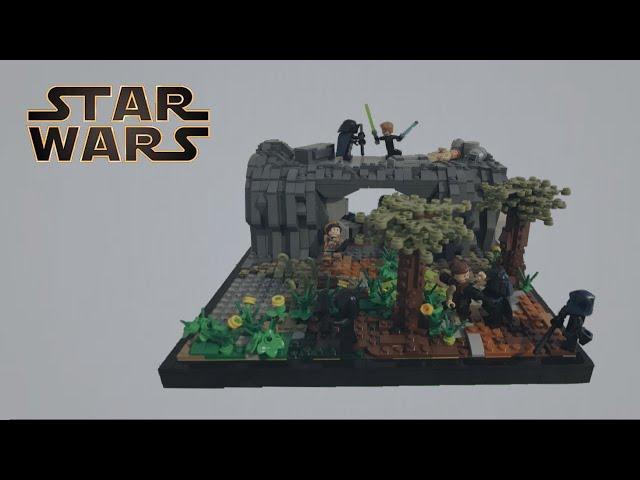 The Black Knights/ Republic Base On Sorgan Under Attack/A Lego Star Wars Moc