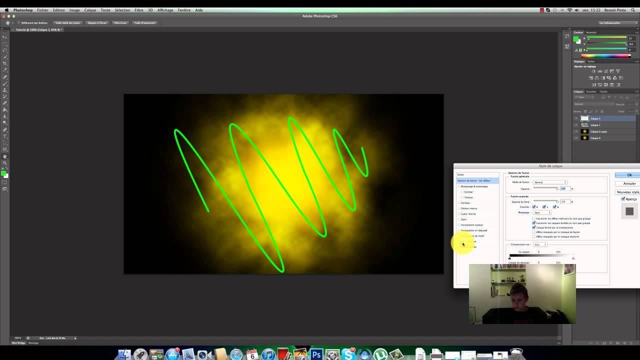 !TUTORIEL! Creer un jolie fond d'ecran - Photoshop CS6.mp4 - YouTube