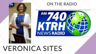 Live on the Radio in Houston | Veronica Sites